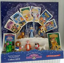WALT DISNEY'S HOME VIDEO MASTERPIECE COLLECTION 1997 HAPPY MEAL DISPLAY