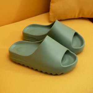 2021 Summer Slides YZY Slippers Sandals Flip Flops Breathable Women Men Beach