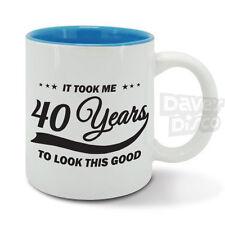 It took me 40 YEARS to look this good mug cup, 40th birthday, vintage year 1977