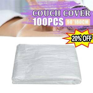 100PCS Disposable Couch Cover For Massage Tables Bed Beauty Treatment Protection