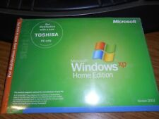 Microsoft Windows XP Home Edition for Toshiba - New In Sealed package