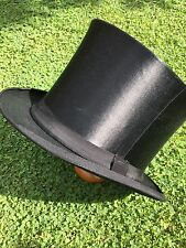 Top Hat - Late Victorian Collapsible Opera  Circa 1890-1900