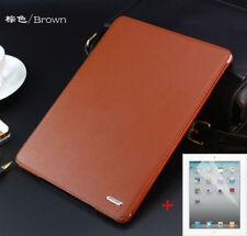 Luxury Classic Leather Case Smart Auto Sleep Cover For iPad 2 3 4/ mini/ Air New