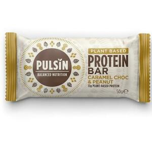 PULSIN | caramel choc & peanut protein bar 50g ( 18 Pack )