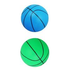 2Pcs Mini Bouncy Basketball Indoor/Outdoor Kids Boys Girls Children Toy Gift