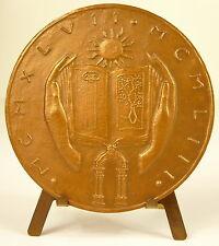 Médaille Femme de Président Michelle (Vincent) Auriol Journal du septennat Medal