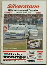 SILVERSTONE 23/24 Sep 1995 DHL INTERNATIONAL RACEDAY Touring Car A4 Programme