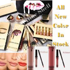 Long Lasting Waterproof Lipsticks Matte Liquid Lip Gloss Lip Liner Cosmetics Lot