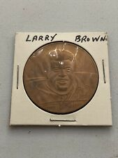 1972 Player Of The Year Larry Brown Coin