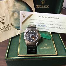 Rolex Vintage Explorer II 1655 Rare Steve McQueen Watch ORIGINAL Pumpkin Dial