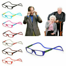 Magnetic Hang neck Reading Glasses Portable Magnetic +1.0 +1.5 +2.0 +2.5