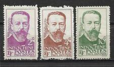 """3 new stamps* French INDOCHINA  1944 """" Paul Doumer """"        (4883)"""