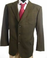 Burberrys Sakko Jacket Barrie Gr.28 grün kariert Einreiher 3-Knopf -S673