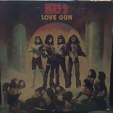 KISS LOVE GUN LP 1977 CASABLANCA NBLP 7057 RECORD CLUB VERSION WITH  INNER