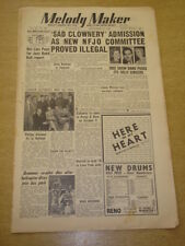 MELODY MAKER 1952 SEPTEMBER 27 BBC SHOW BAND DAVE BARBOUR JIMMY WATSON < +