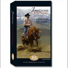 Sliding Stops & Rollbacks by Josh Lyons - DVD - Horse Training
