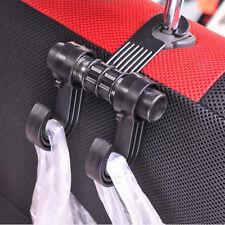 Plastic Car SUV Seat Useful Headrest Hanger Hooks Organizer Handle Bag Holder