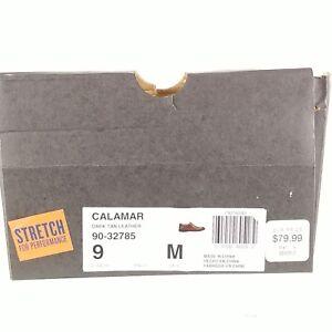 Dockers Mens Shoes CALAMAR 90-32784 Dark Tan Leather Slip-on Dress Loafer