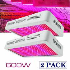 600W Vollspektrum LED Grow Lampe Pflanzenleuchte Wachstumslampe Pflanzenlicht DE