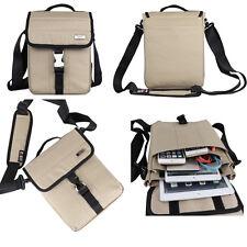 "BUBM Shoulder Bag for Apple iPad 2 3 4 Air 1 2 Pro Mini iPhone Tablet 10"" Case Khaki"