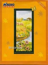 Counted Cross Stitch Kit AUTUMN FARM COUNTRY Chart Pattern Thread Embroidery DIY