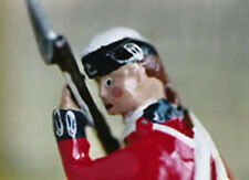 21st Foot British Army Fusilier, Leddy & Slack tin soldier, American Revolution