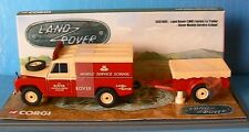 LAND ROVER LWB SERIES I & TRAILER MOBILE SERVICE SCHOOL CORGI CC07405 1/43