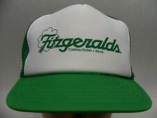 FITZGERALDS CASINO/HOTEL - RENO - TRUCKER STYLE SNAPBACK BALL CAP HAT!