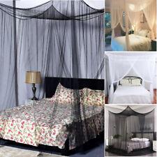 Mosquito Net Mosquito Netting 4 Corner Post Bed Canopy Mosquito Net Full Queen