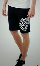 "Mens HENLEYS Niteflix Fleece Jog Shorts - Navy - Size XL Waist 35-36"""