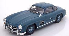 MINICHAMPS 1954 Mercedes Benz 300 SL W198 Light Blue 1:18 LE 336pcs *New!