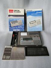 Vintage Sharp CE-123P Pocket Computer & Printer Cassette Interface CE-129P JAPAN