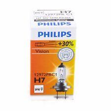 H7 Philips Vision Halogenlampe bis zu 30% mehr Licht 12972PR single 1 Stück