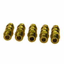 Brass Universal M4 Threaded Water Nipples for RC Scale Model Boat 5PCS