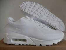 "NIKE AIR MAX 90 HYP HYPERFUSE QS ""USA"" WHITE-WHITE SZ 11 RARE!  [613841-110]"