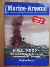 H.M.S. 'Hood', die unglückliche Gegnerin.. (Marine-Arsenal, Sonderheft 19)