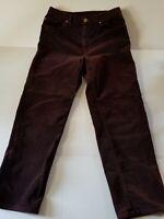 Ralph Lauren Jeans Co Womens Cords Size 12 Purplish Colour Vintage Hong Kong