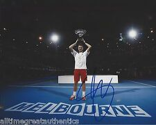 STANISLAS STAN WAWRINKA SIGNED AUTHENTIC 8X10 PHOTO B w/COA AUSTRALIAN OPEN C