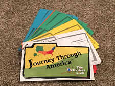 Journey Through America Activity Card Set for Ages 6-11 Homeschool Geography