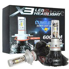 LAMPADE H7 LED Zes X3 Chip 2° Gen 6000 LM 50W CANBUS 3000K 6500K 8000K IP67