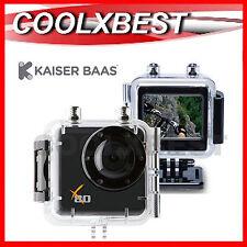 KAISER BAAS X80 FULL HD 1080P SPORTS ACTION CAMERA BIKE DIVING UNDERWATER SKY