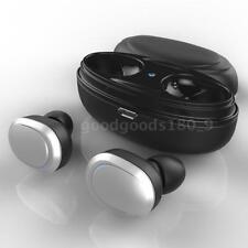 Mini TWS doppio Cuffie Bluetooth senza fili In-ear Stereo Auricolare Microfono
