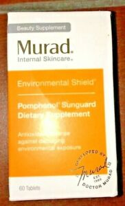 Murad Internal Skincare Pomphenol Sunguard Dietary Supplement Sealed New in Box