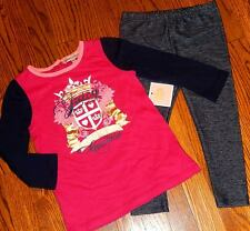 JUICY COUTURE INFANTS/BABY GIRLS BRAND NEW 2Pc DRESS LEGGING SET Size 3-6M, NWT