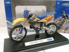 WELLY 1/18 - MOTO HUSQVARNA CR 125 CROSS