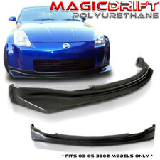 For 03 04 05 Nissan 350z Z33 SP N1 Style PU Front Bumper Lip Kit NISM