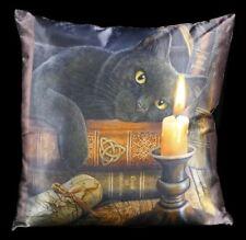 Kissen mit schwarzer Katze - Witching Hour - Lisa Parker Dekokissen Zierkissen