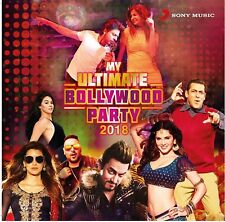 MY ULTIMATE BOLLYWOOD PARTY 2018 - BEST HITS 2 CD SET - FREEPOST