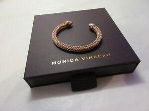 monica vinader rose gold vermeil fiji bud cuff VERY SMALL please see description