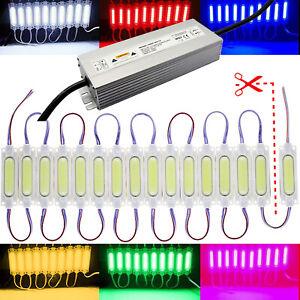 2W Cob LED Module - White Red Blue Pink - Supply 230V/12V Advertising Lighting